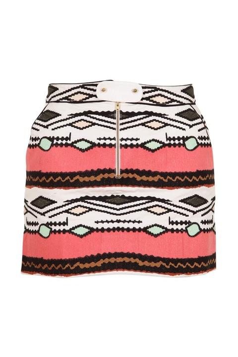Valentine Gauthier Mirage Embroidered Skirt