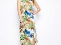 Brave Soul Hawaii Midi Dress