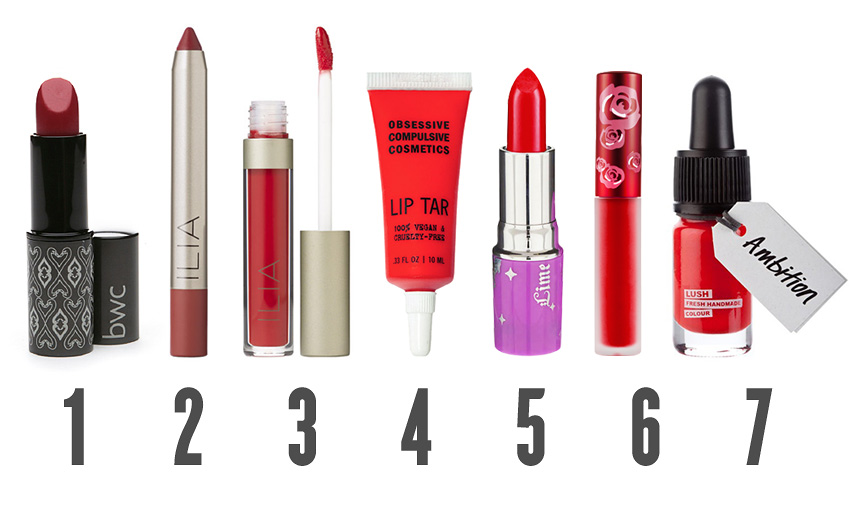 7 glamorous red lip sticks