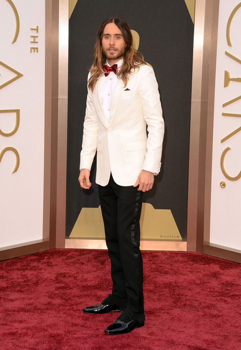 Best Supporting Actor Jared Leto in Saint Laurent