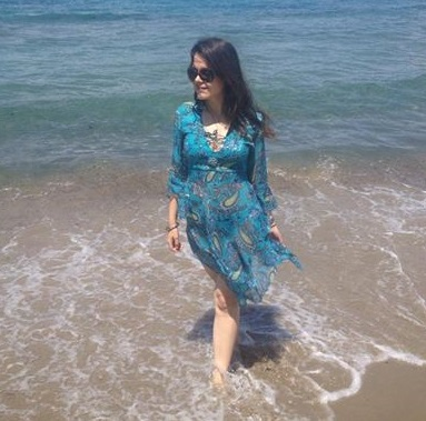 Me on Italian beaches!