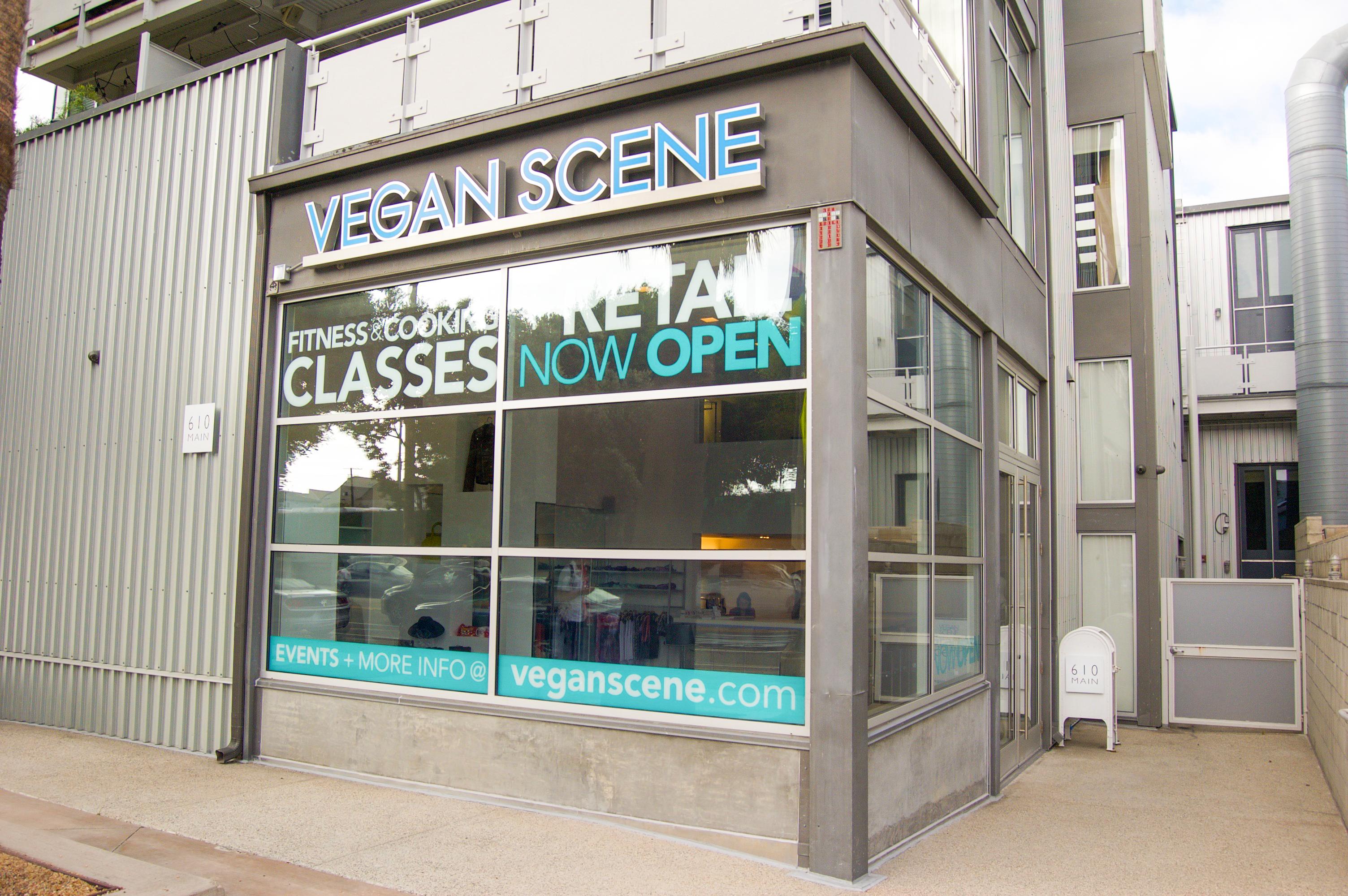 Exterior Vegan Scene