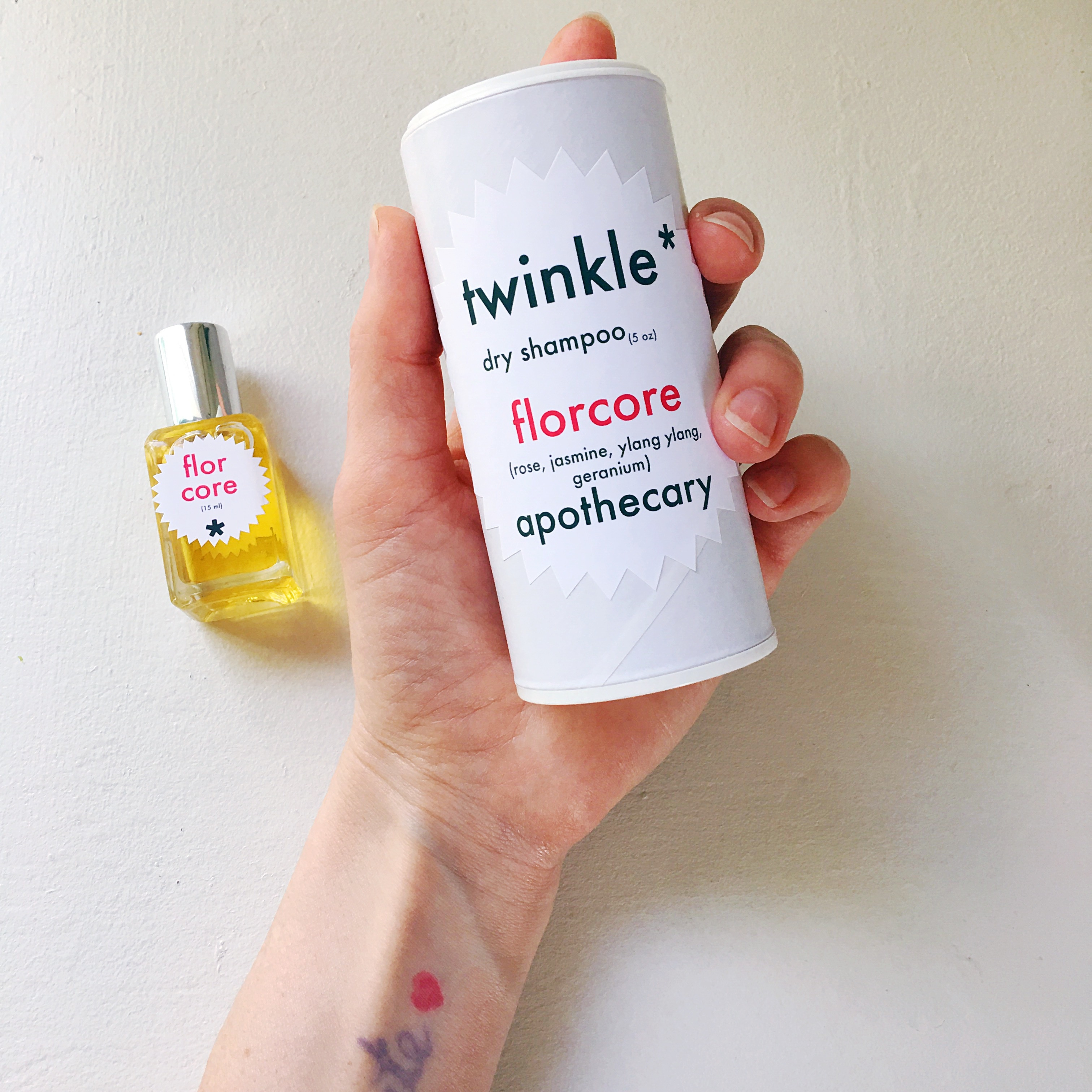 Twinkle Apothecary Dry Shampoo and Perfume