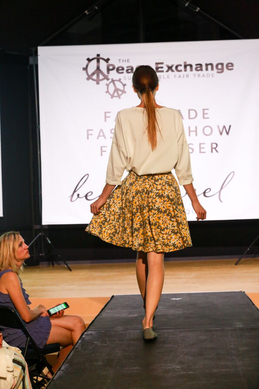 Fair trade fashion show 14