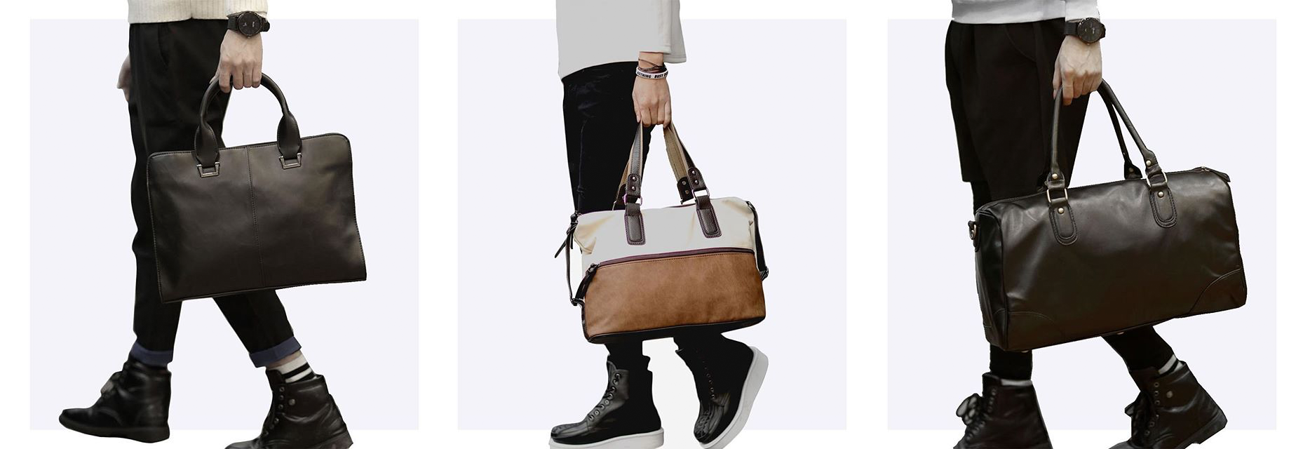 Tokyo Bags makes a variety of unisex bags for men and women, with a focus on urban minimalism.