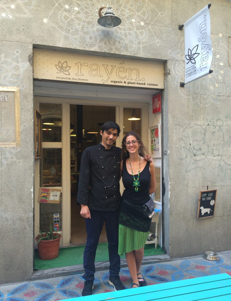 Noemi and Paulo from Rayén Vegano