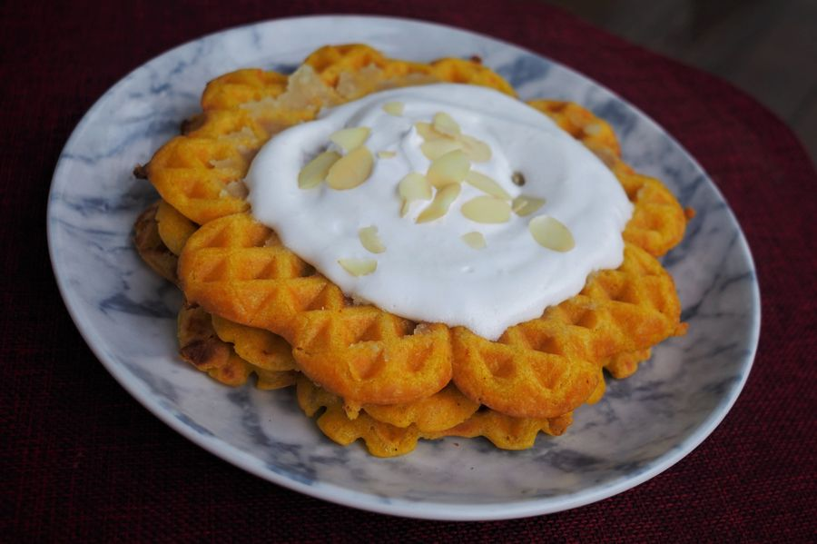 saffron-waffles