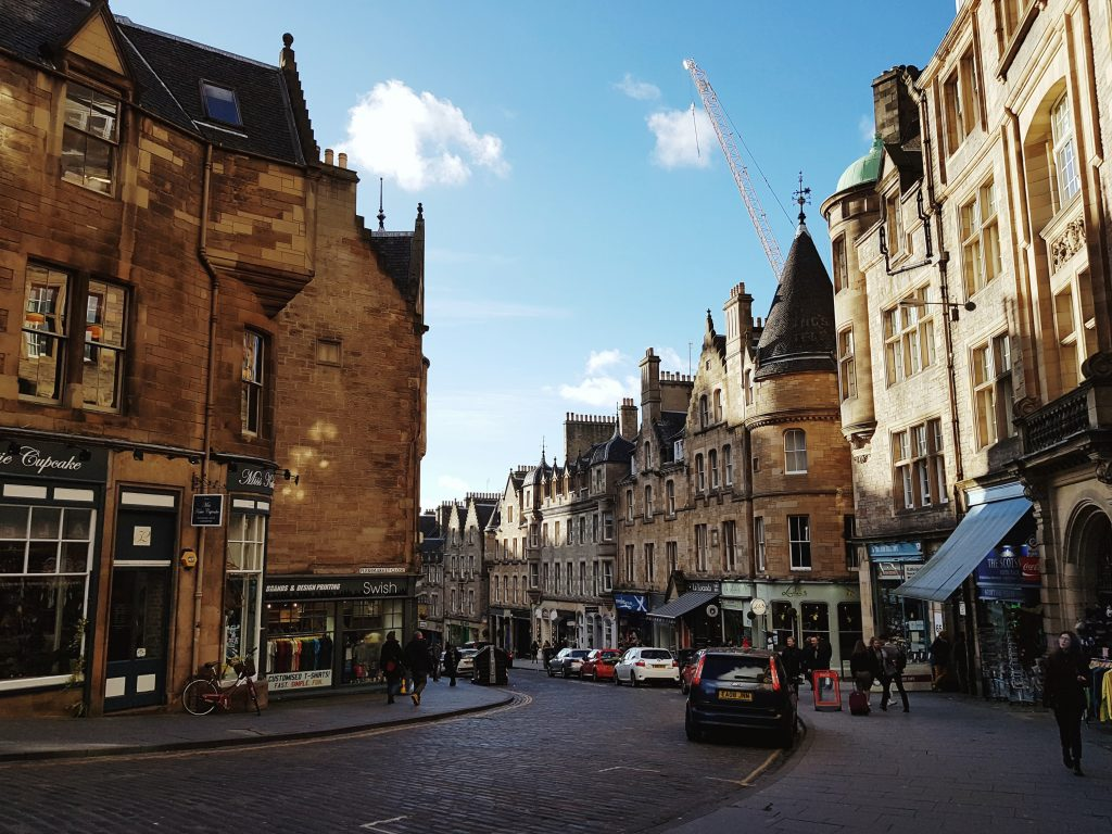 Ethical edinburgh where to shop and eat guided by a local cockburn street in edinburgh fandeluxe Choice Image