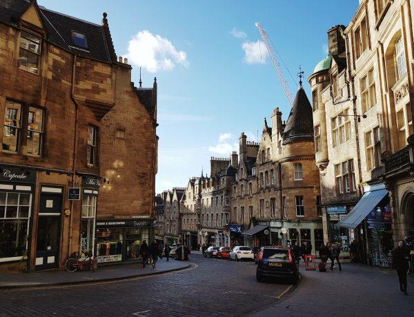 Cockburn Street in Edinburgh.