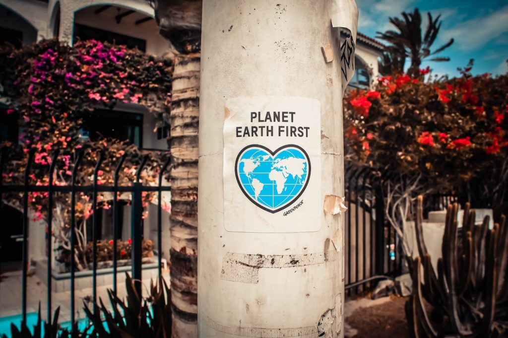 Make sure the planet comes first on your travels.