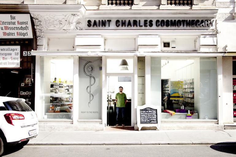 Saint Charles Apotheke, Wien